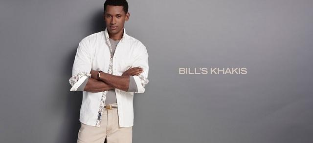 Bill's Khakis at MYHABIT