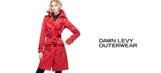 Dawn Levy Outerwear at MYHABIT