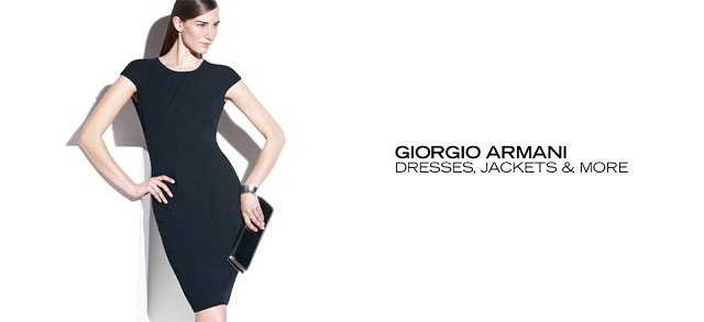 Giorgio Armani: Dresses, Jackets & More at MYHABIT