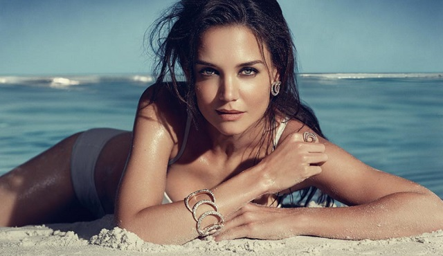H. Stern Iris Collection Campaign by Katie Holmes