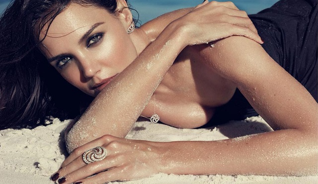 H. Stern Iris Collection Campaign by Katie Holmes_8