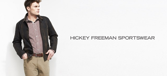 Hickey Freeman Sportswear at MYHABIT