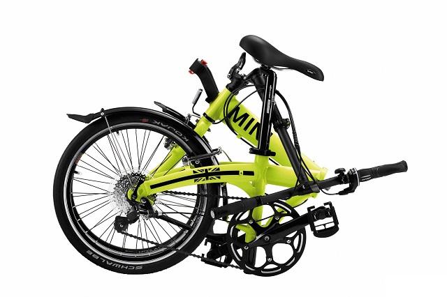MINI Cooper Folding Bike Lime_2