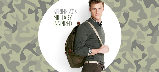 Military Detail: Bags, Belts & More at MYHABIT