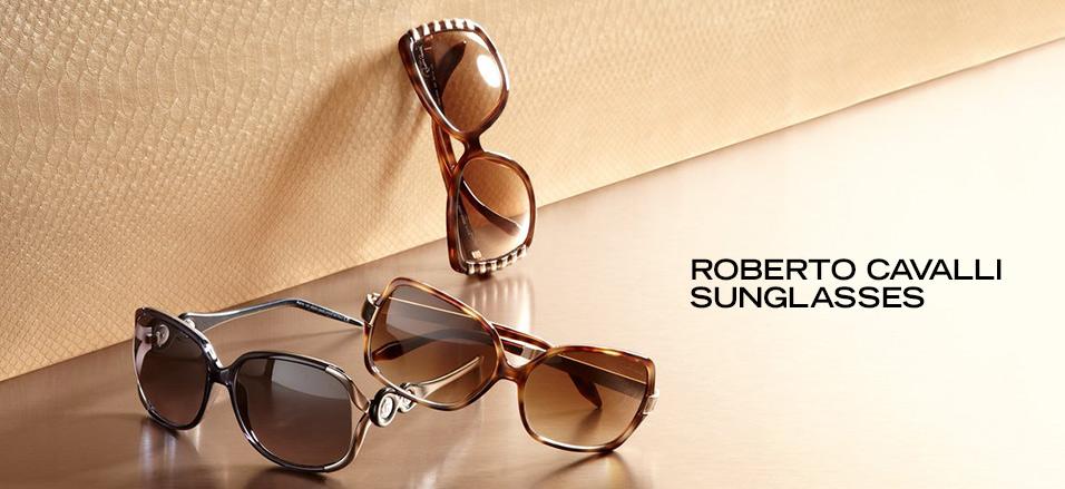 Roberto Cavalli Sunglasses at MYHABIT