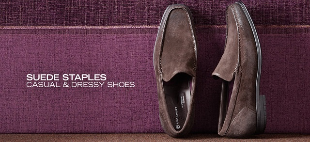 Suede Staples: Casual & Dressy Shoes at MYHABIT