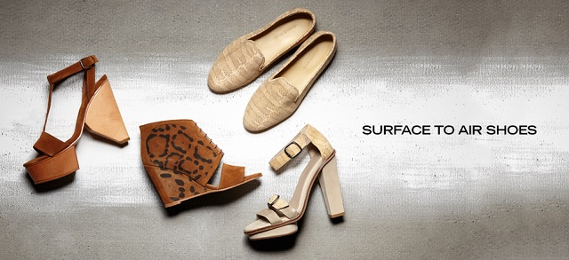Surface to Air Shoes at MYHABIT