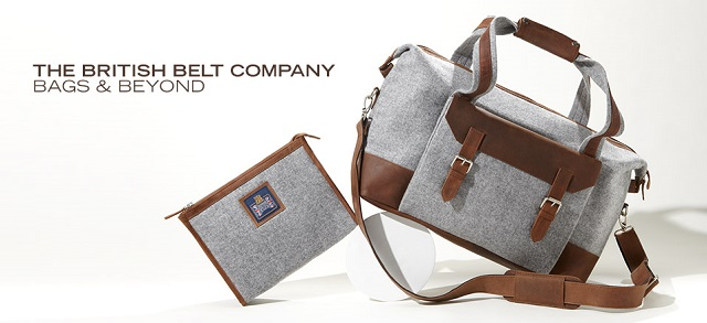 The British Belt Company: Bags & Beyond at MYHABIT