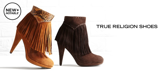 True Religion Shoes at MYHABIT
