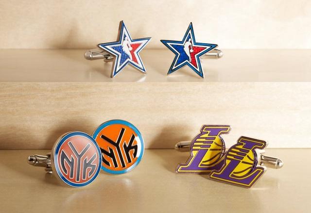Cufflinks Inc NBA Logo Cufflinks