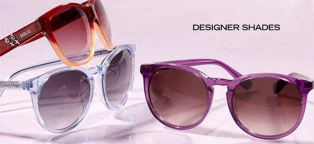 Designer Shades at MYHABIT