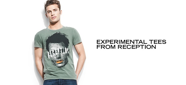 Experimental Tees from Reception at MYHABIT