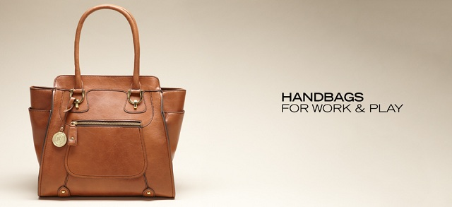 Handbags for Work & Play at MYHABIT