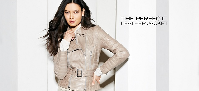 The Perfect Leather Jacket at MYHABIT