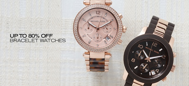 Up to 80 Off Bracelet Watches at MYHABIT