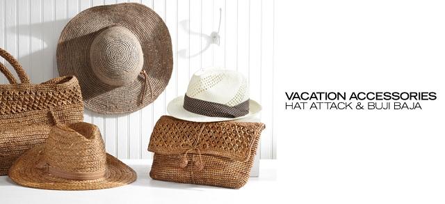 Vacation Accessories Hat Attack & Buji Baja at MYHABIT