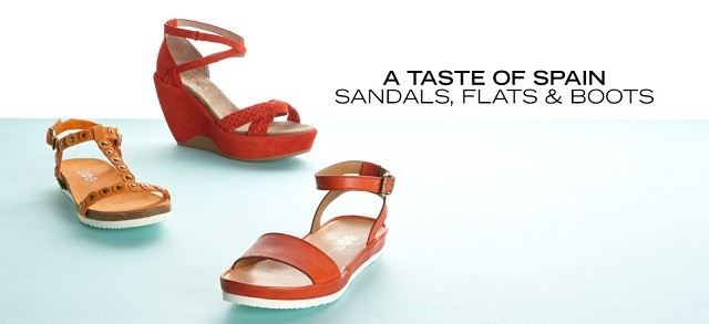 A Taste of Spain Sandals, Flats & Boots at MYHABIT