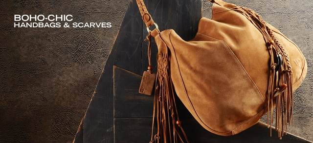 Boho-Chic Handbags & Scarves at MYHABIT