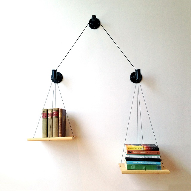 Cush Design Studio Balance Bookshelf - Black_1