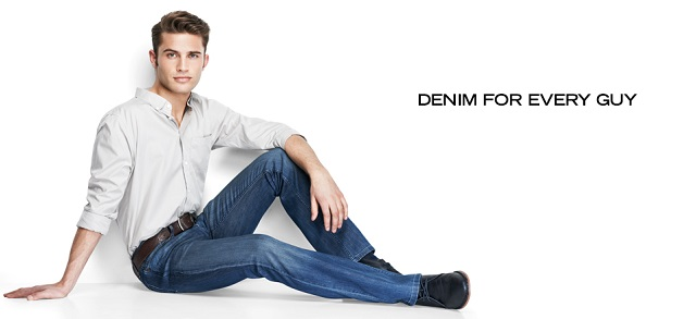 Denim for Every Guy at MYHABIT