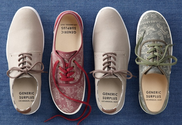 Generic Surplus Men's Canvas Sneaker