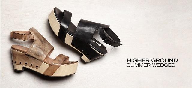Higher Ground Summer Wedges at MYHABIT