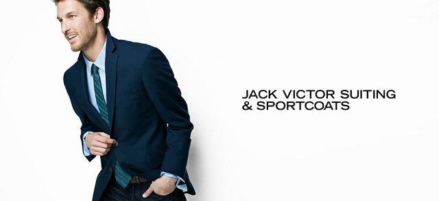 Jack Victor Suiting & Sportcoats at MYHABIT