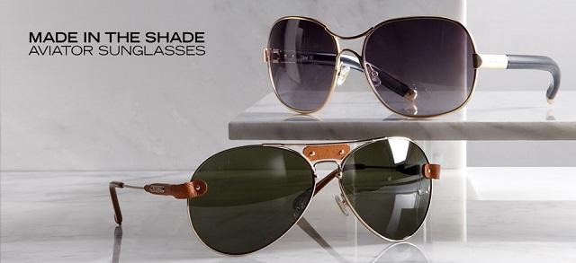 Made in the Shade Aviator Sunglasses at MYHABIT