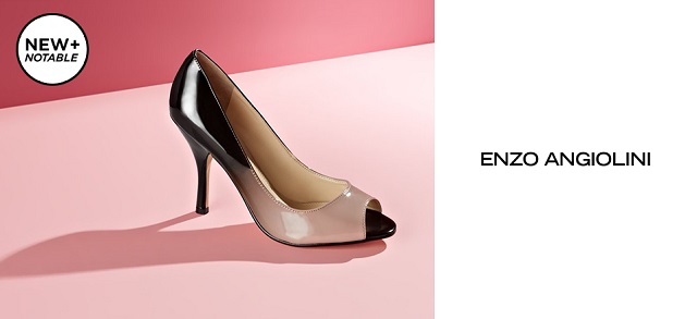 New + Notable Enzo Angiolini at MYHABIT