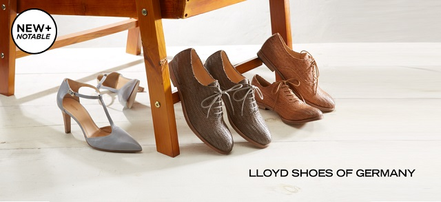 New + Notable Lloyd Shoes of Germany at MYHABIT