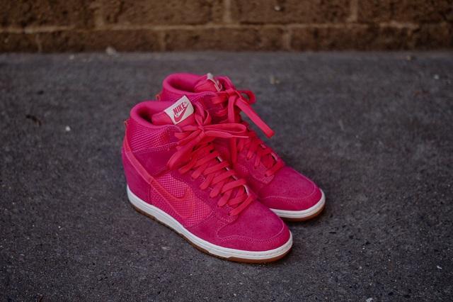 Nike Wmns Dunk Sky Hi - Pink_3