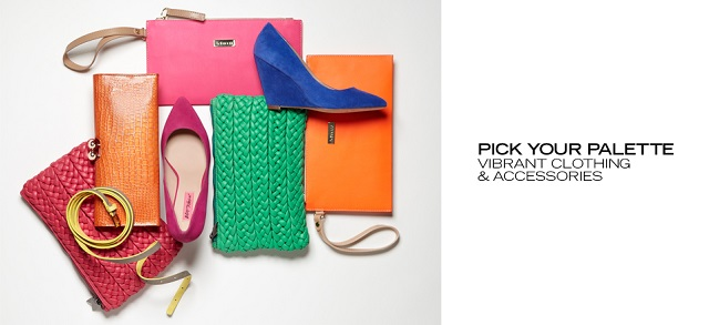 Pick Your Palette Vibrant Clothing & Accessories at MYHABIT