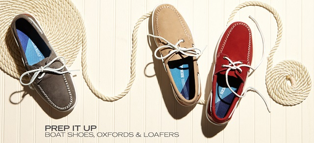 Prep It Up Boat Shoes, Oxfords & Loafers at MYHABIT