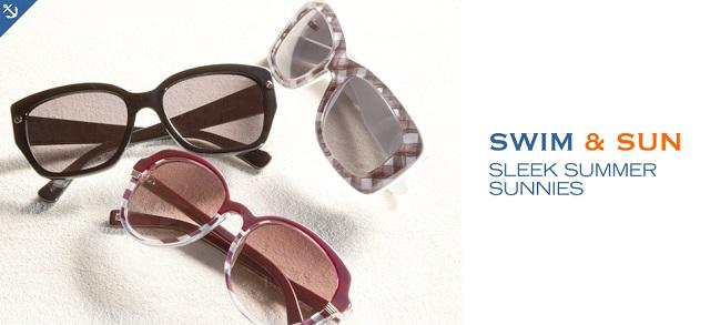 Swim & Sun Sleek Summer Sunnies at MYHABIT