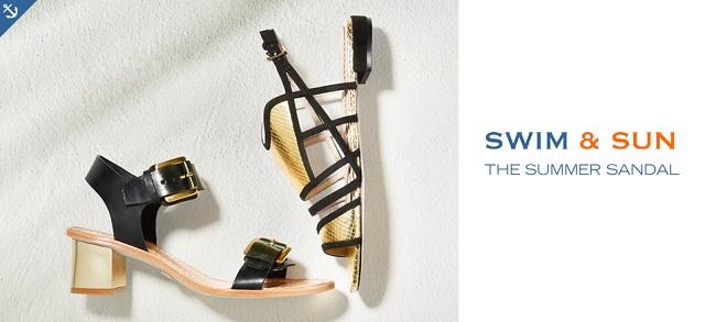Swim & Sun The Summer Sandal at MYHABIT