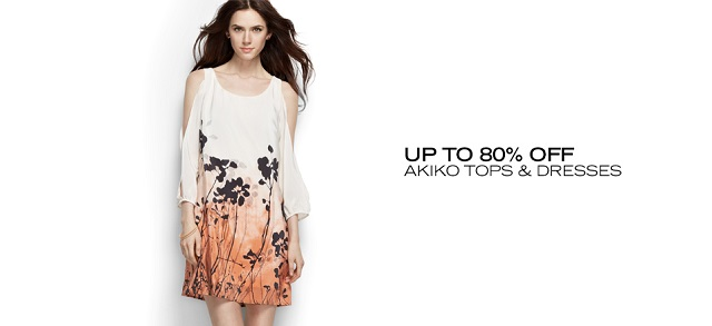 Up to 80 Off Akiko Tops & Dresses at MYHABIT