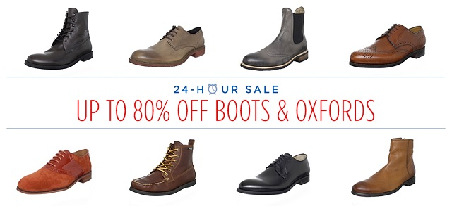 Up to 80 Off Boots & Oxfords at MYHABIT