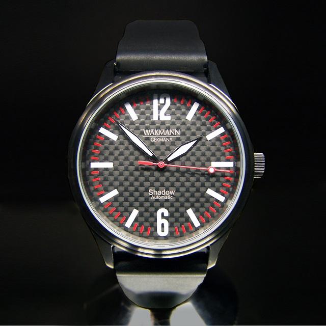 WAKMANN Germany Shadow Stainless steel Watch