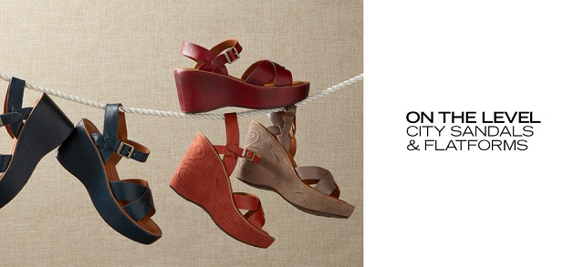 Walkable Styles City Sandals, Wedges & More at MYHABIT