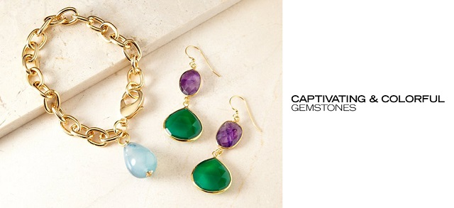 Captivating & Colorful Gemstones at MYHABIT