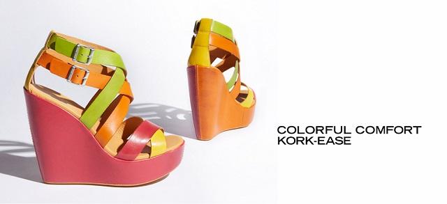 Colorful Comfort Kork-Ease at MYHABIT