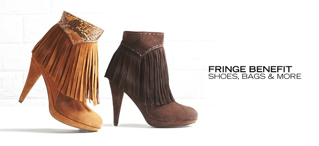 Fringe Benefit Shoes, Bags & More at MYHABIT