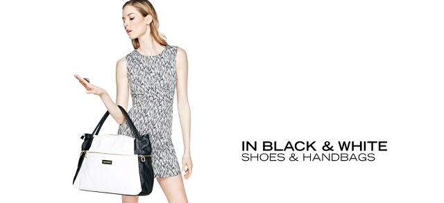 In Black & White Shoes & Handbags at MYHABIT