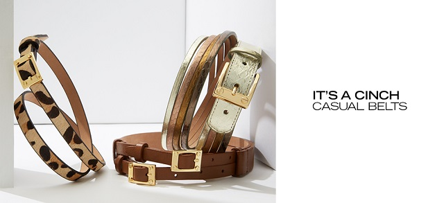 It's a Cinch Casual Belts at MYHABIT