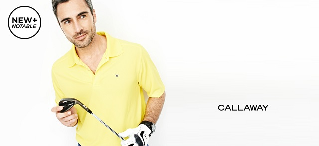 New + Notable Callaway at MYHABIT