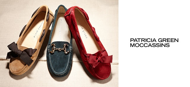 Patricia Green Moccassins at MYHABIT