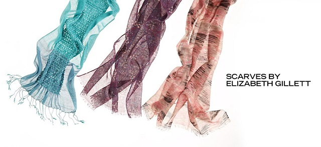 Scarves by Elizabeth Gillett at MYHABIT