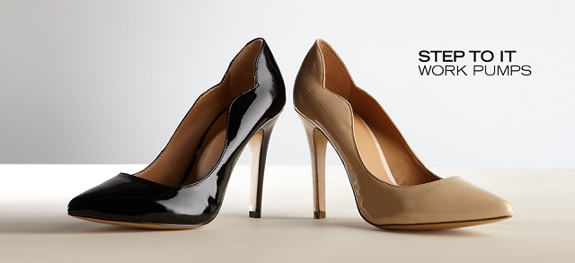 Step to It Work Pumps at MYHABIT