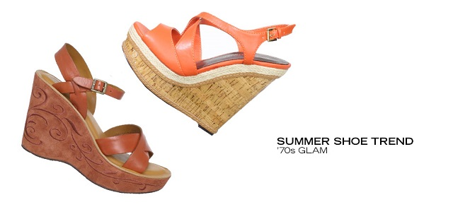 Summer Shoe Trend '70s Glam at MYHABIT