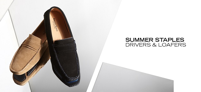 Summer Staples Drivers & Loafers at MYHABIT